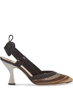 Fendi туфли Colibrì 85 с ремешком на пятке