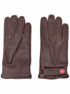 Kiton перчатки с ремешком