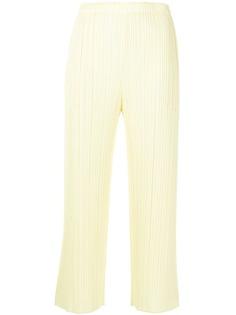 Pleats Please Issey Miyake плиссированные брюки прямого кроя