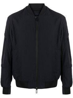Emporio Armani фактурная куртка-бомбер