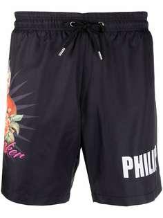 Philipp Plein плавки с принтом