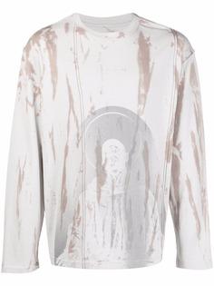 A-COLD-WALL* футболка Erosion с длинными рукавами