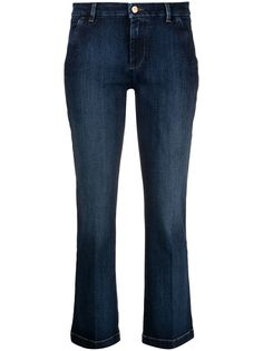 7 For All Mankind прямые джинсы
