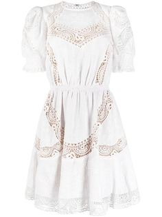 Michael Michael Kors короткое платье с вышивкой