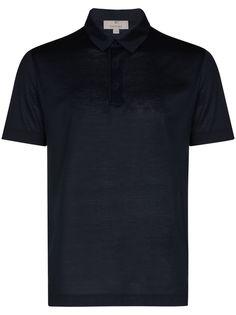 Canali рубашка поло с короткими рукавами