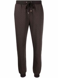 Michael Michael Kors спортивные брюки с монограммой