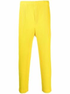 Homme Plissé Issey Miyake плиссированные брюки прямого кроя