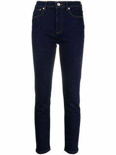 A.P.C. узкие джинсы средней посадки