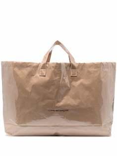 Comme Des Garçons сумка-тоут с логотипом