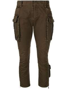 Dsquared2 укороченные брюки карго