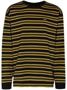 WTAPS полосатая футболка с длинными рукавами (W)Taps