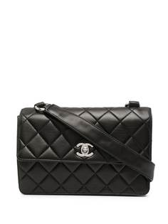 Chanel Pre-Owned маленькая сумка на плечо Classic Flap 1997-го года