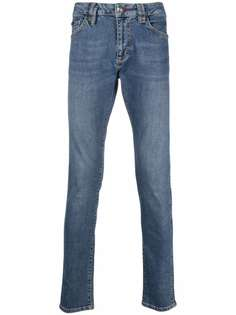Philipp Plein узкие джинсы Institutional с заниженной талией
