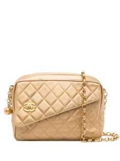 Chanel Pre-Owned стеганая сумка на плечо 1992-го года