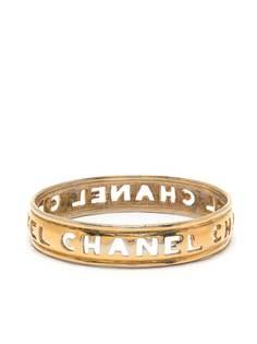 Chanel Pre-Owned браслет с резным логотипом