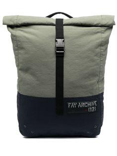 Fay сумка-тоут с откидным клапаном