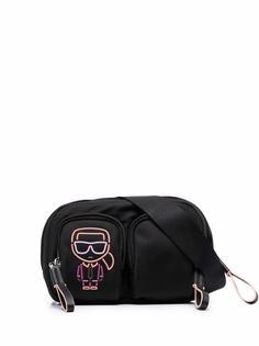 Karl Lagerfeld поясная сумка Ikonik Biarritz
