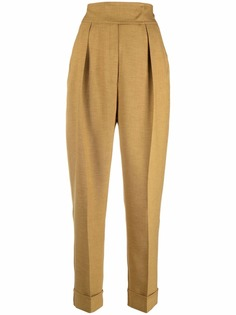 12 STOREEZ зауженные брюки с завышенной талией