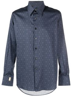Billionaire рубашка с длинными рукавами и принтом