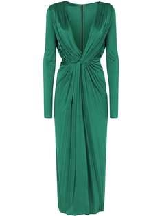 Dolce & Gabbana коктейльное платье с драпировкой