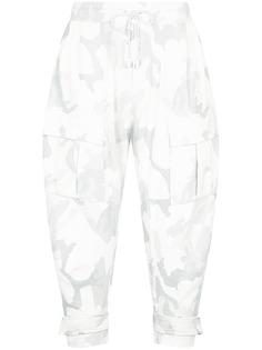 Dolce & Gabbana зауженные брюки с камуфляжным принтом