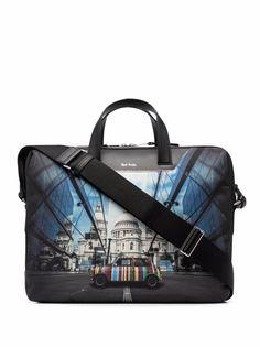 PAUL SMITH сумка для ноутбука с графичным принтом