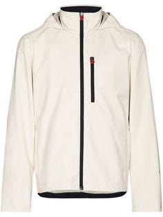 Kiton спортивная куртка на молнии с капюшоном