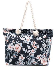 Emporio Armani пляжная сумка с цветочным принтом