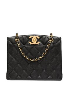Chanel Pre-Owned стеганая сумка на плечо 1995-го года с логотипом CC