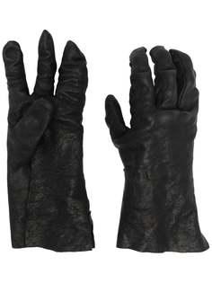 Boris Bidjan Saberi перчатки с жатым эффектом