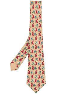 Hermès галстук 2000-х годов с принтом