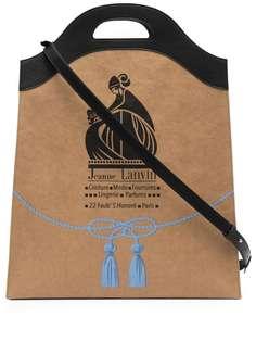 LANVIN сумка-тоут с логотипом Mother and Child