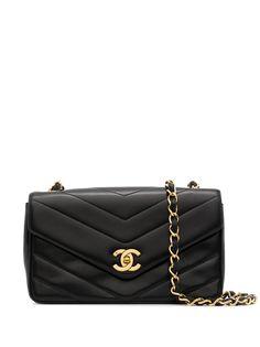 Chanel Pre-Owned сумка на плечо V-Stitch 1995-го года