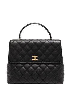 Chanel Pre-Owned стеганый портфель 2003-го года