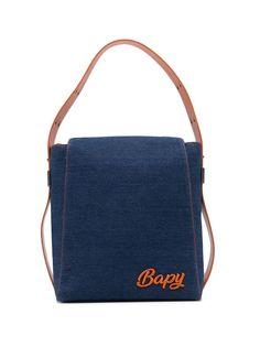 BAPY BY *A BATHING APE® джинсовая сумка на плечо с логотипом