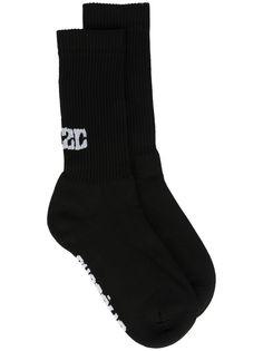 032c носки вязки интарсия с логотипом