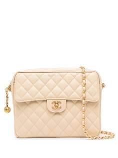 Chanel Pre-Owned стеганая сумка на плечо 1995-го года с клапаном