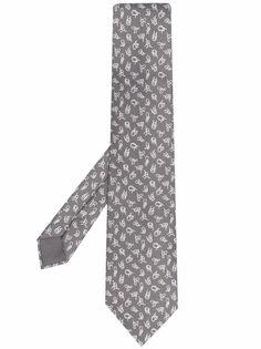 Hermès галстук 2000-х годов с узором