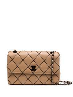 Chanel Pre-Owned сумка на плечо Wild Stitch Classic Flap medium 2000-х годов