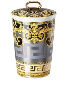 Versace ароматическая свеча с узором Baroque