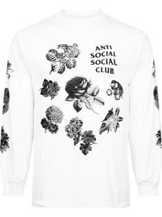 Anti Social Social Club футболка Strange Arrangements с длинными рукавами