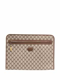 Gucci Pre-Owned портфель 1980-х годов с узором GG