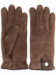 Brunello Cucinelli перчатки с кнопками