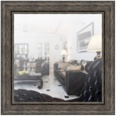 Зеркало в широкой раме 70 x 70 см, модель P080030 Аурита