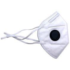 Маска-респиратор медицинская РХЗ-М медицинский FFP3, KN99 с клапаном, с обтюратором и регулируемыми лямками за уши, 10 штук. РусГлавСнаб