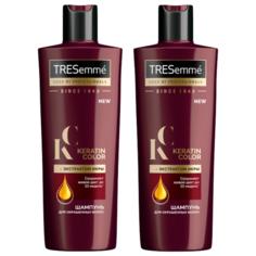 TRESemme шампунь Keratin Color для окрашенных волос с экстрактом икры 400 мл, 2шт