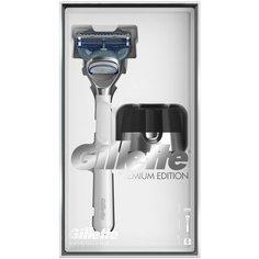 Набор Gillette подарочный: бритва SkinGuard, магнитная подставка