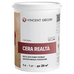 Воск VINCENT Cera Realta, прозрачный, 1 л