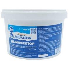 Aqualeon / Дезинфектор МСХ (медленный стаб. хлор в таблетках 20 г) 1,5 кг.