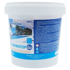 Aqualeon / Дезинфектор МСХ (медленный стаб. хлор в таблетках 200 г) 1 кг.
